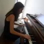 Emily Mazzarella, piano teacher at Monument Square Music