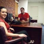 Joe and Stephanie taking care of business!