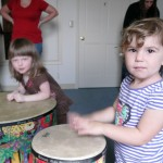 nina and maddie percussion