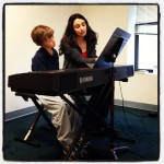 Emily is teaching up a storm here at Monument Square Music School!