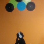 New  cool artwork in the drum lessons room at Monument Square Music School