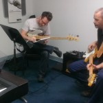 Bass guru, Mike Kelly teaching on Tuesday night at the school!
