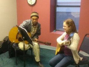 Guitar lessons at Monument Square Music School with the master Jimmy Morrell!